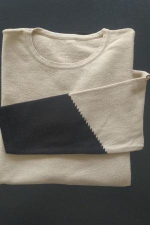 Blusa Tricot Intarsia
