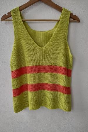 Cropped de tricot Camelia